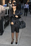 Salma Hayek at The Late Show With David Letterman in New York City 10th October x10