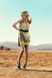 Jennifer Hawkins Myer S/S 2013 Collection HQ x 3