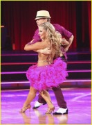 Shawn Johnson on Dancing With The Stars 10/15/12