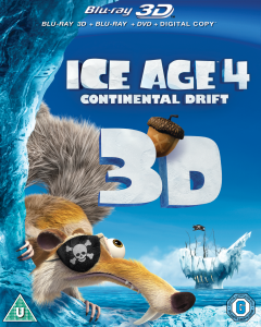 Download Ice Age 4: Continental Drift 3D (2012) BluRay 720p Half SBS 600MB Ganool