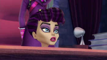Monster High: Upiorki Rz±dz± / Monster High: Ghouls Rule (2012) PLDUB.720p.BRRip.XviD.AC3.PL-STF / Dubbing PL