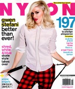 Gwen Stefani � Nylon USA - Nov 2012 (x4) **ADDS**