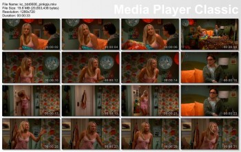 Kaley Cuoco | Big Bang Theory s06e06 | Pink Pajamas | HD 720p