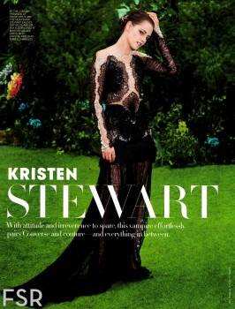 Kristen Stewart Dec. 2012 Vogue Best Dressed Edition