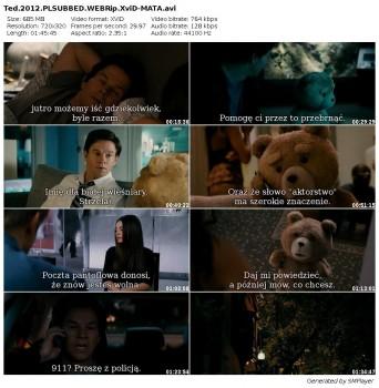 TED (2012) PLSUBBED.WEBRip.XviD-MATA ~ Napisy PL + RMVB