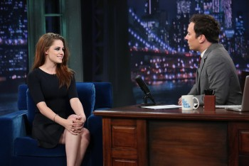 Kristen Stewart - 'Late Night with Jimmy Fallon' November 7, 2012 - HQ Stills