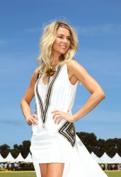 Jennifer Hawkins Leggy @ Paspaley Polo In The City Event At Centennial Park In Sydney November 17, 2012 HQ x 5