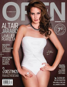 Altair Jarabo beautiful - Open Magazine MX 12/2012 HQ