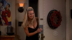 Kaley Cuoco -Lil Black Dress - Big Bang Theory &amp;quot;The Santa Simulation&amp;quot;