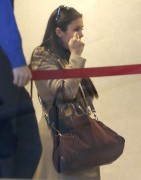 Nina Dobrev - departing on a flight out of LAX 12/26/12
