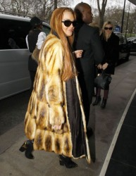 Lindsay Lohan - arrives at the Dorchester Hotel in London 12/29/12