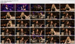 Idina Menzel @ Chelsea Lately 2012-03-05