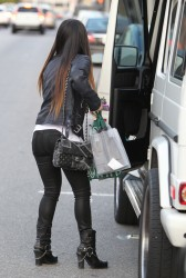 Brenda Song - out shopping in LA 1/5/13