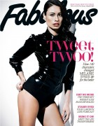 Melanie Sykes - Latex Bodysuit Fabulous Magazine 6th January 2013 MQx 8