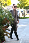 Demi Lovato - out and about in LA 1/8/13