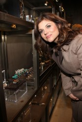 Tiffani Thiessen - opening celebration of Kimberly McDonald in LA 1/10/13