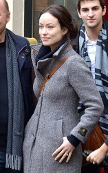 Olivia Wilde - on the set of 'Third Person in Rome 1/13/13