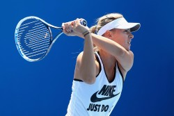 Maria Sharapova - at a practice session in Melbourne 1/19/13