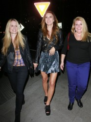 Audrina Patridge - at the Emerson nightclub in Hollywood 1/18/13