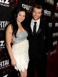 Katrina Law - 'Spartacus: War Of The Damned' premiere in LA 1/22/13