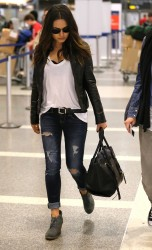 Mila Kunis - at LAX Airport 1/26/13