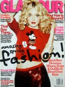 Dakota Fanning - Glamour magazine March 2013