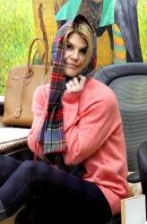 Lori Loughlin - at a salon in Beverly Hills 1/28/13