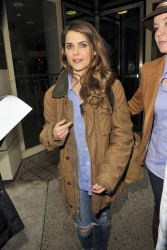 Keri Russell - leaving 'Live! with Kelly & Michael' in NYC 1/30/13