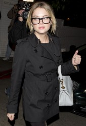 Ashley Benson - leaving the Chateau Marmont in West Hollywood 1/30/13