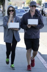 Ashley Benson - leaves a bakery in West Hollywood 1/31/13