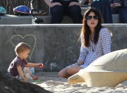 67fc0d235657520 Selma Blair takes her son Arthur to a park in Los Angeles (Feb 3)   45 HQ candids