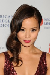 Jamie Chung - The Heart Truth 2013 Fashion Show in NYC 2/6/13