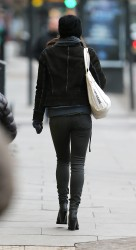 Keira Knightley - out and about in London 2/6/13