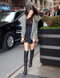 Kendall Jenner - at her hotel in NYC 2/7/13
