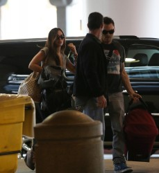 Megan Fox - at LAX Airport 2/8/13