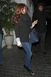 Eva Longoria - leaving the Chateau Marmont in West Hollywood 2/9/13
