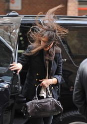 Katie Holmes - out and about in NY 2/10/13