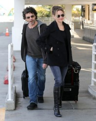 Renee Zellweger - at LAX Airport 2/10/13