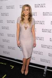 Carmen Electra - Badgley Mischka Fall 2013 fashion show in NYC 2/12/13