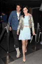 Katy Perry - at Katsuya restaurant in Brentwood 2/12/13