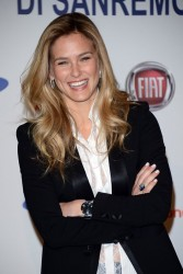 Bar Refaeli - Press Conference 63rd Sanremo Festival 2/13/13