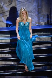 Bar Refaeli - 63rd Sanremo Song Festival 2nd Night in Sanremo, Italy 2/13/13