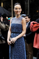 Olivia Wilde - Calvin Klein fashion show in New York 2/14/13