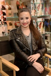 Demi Lovato - Topshop Topman LA Grand Opening at The Grove 2/14/13