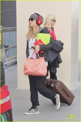 Ashley Benson - arrives at LAX Airport 2/15/13