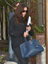 Eva Longoria - leaves the salon in West Hollywood 2/18/13