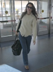Katie Holmes - at JFK Airport in NYC 2/21/13