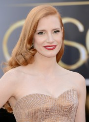 Jessica Chastain - 85th Annual Academy Awards in Hollywood 2/24/13