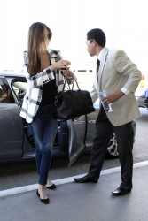 Miranda Kerr - at LAX Airport 2/25/13