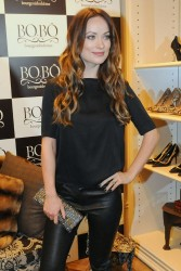Olivia Wilde - BOBO store opening in Sao Paulo, Brazil 2/26/13